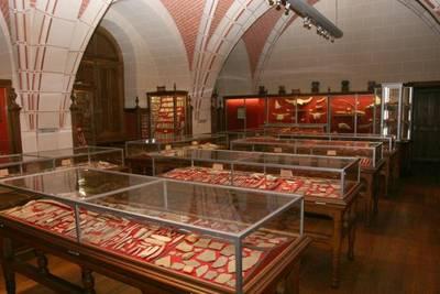 Zaal in het museum
