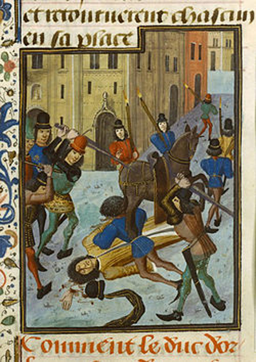 Assassinat Duc d'Orléans