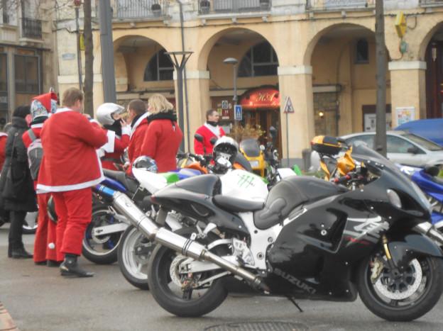 Kerstmotomannen
